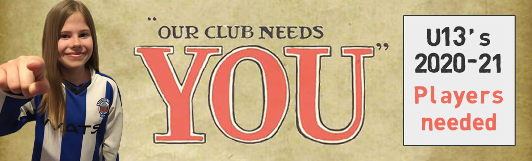 Our club needs you